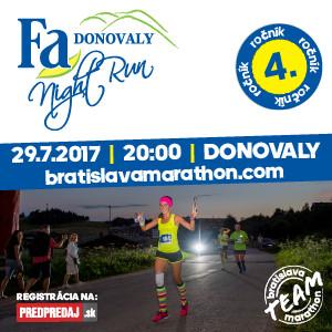 64ef37f0c Po roku sa opäť blíži jeden z najkrajších behov na Slovensku. Fa Donovaly  Night Run prichádza už so svojím štvrtým pokračovaním a opäť môžete  očakávať niečo ...